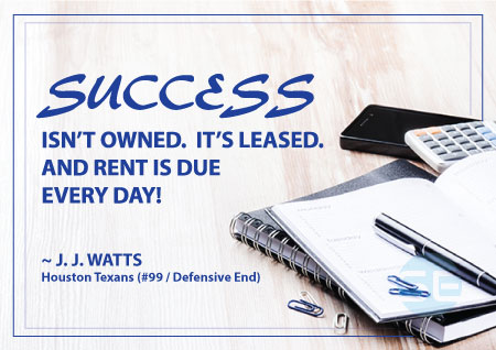 Success is not owned