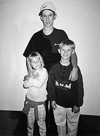 Kids Portland Airport 1997