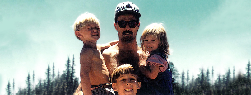 Fathers Day - Papa Dub with Kids -1994 Header