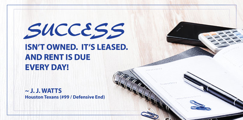 Success is Leased